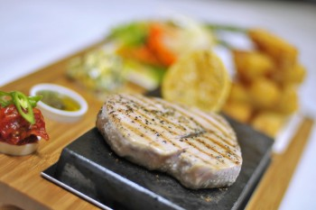Tuna Steak Stones