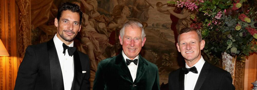 Prince Charles David Gandy Wool Conference