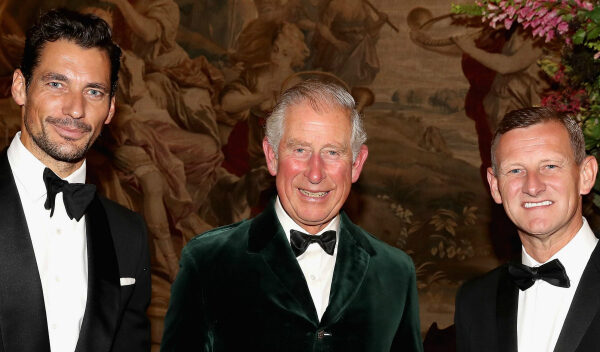David Gandy joins Prince Charles at Inaugural Wool Conference Dinner