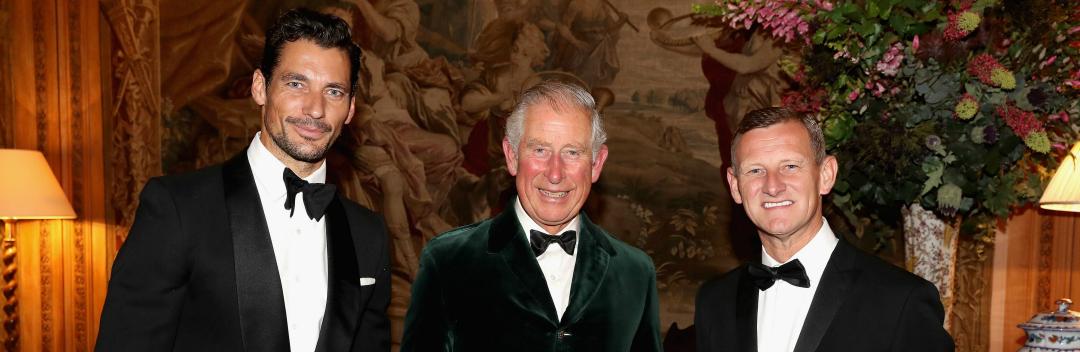 David Gandy joins Prince Charles at Inaugural Wool Conference Dinner