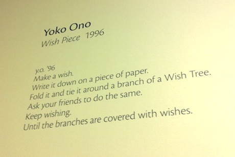 Yoko Ono's Do It 20 13 instructions