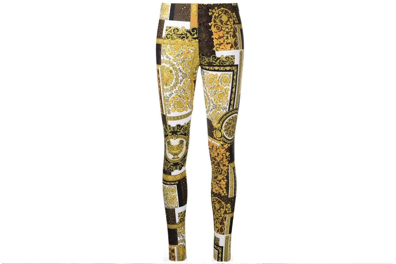 versace leggings