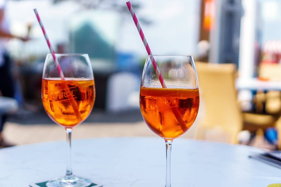 Free Aperol Spritz Delivery in Manchester