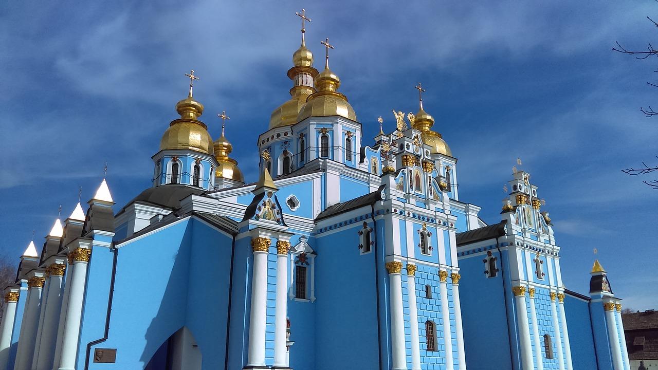 orthodox buildings kiev