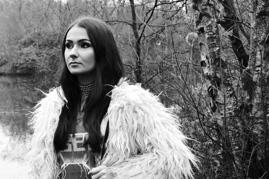 trend editorial glam rock woods grunge style heaton park manchester