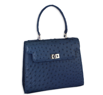 alice small handbag blue navy pickett ostrich