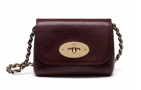 mulberry mini lily bag house of fraser oxblood