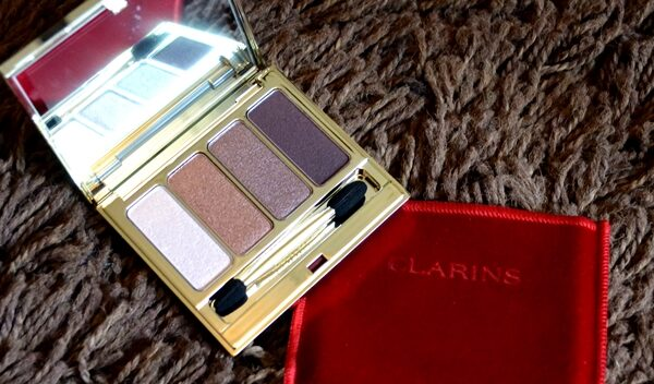 Clarins Rosewood 4 Colour Eye Palette Review