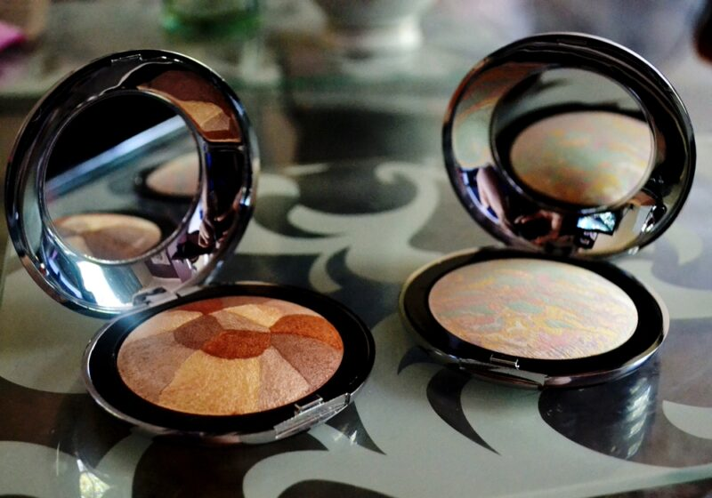 proto-col baked mineral shimmer spicy splash colour correct powder