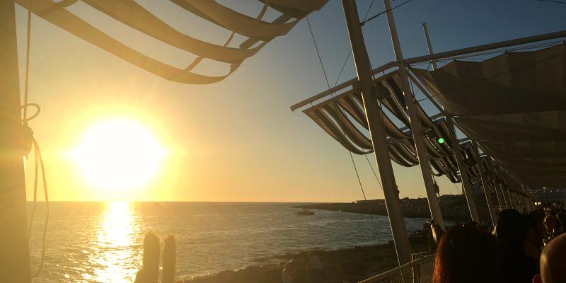 Ibiza sunset strip san antonio - Savannah restaurant