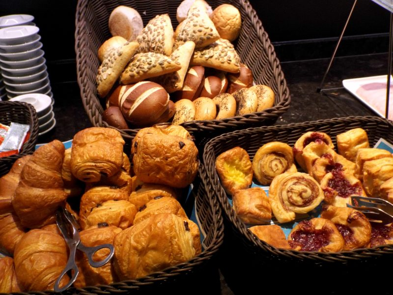 Motel One Manchester Piccadilly breakfast
