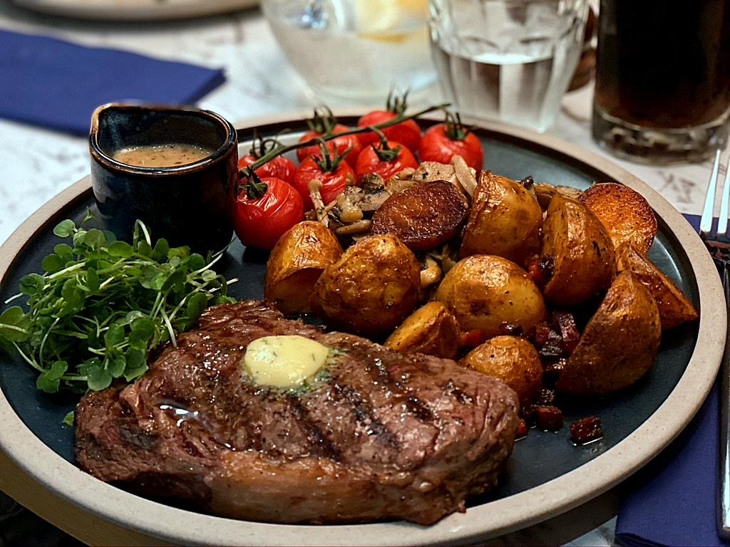 steak at cheshire house knutsford