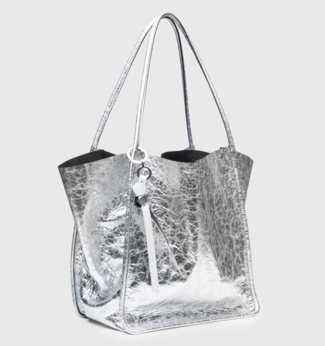 proenza schouler oversized metallic bag