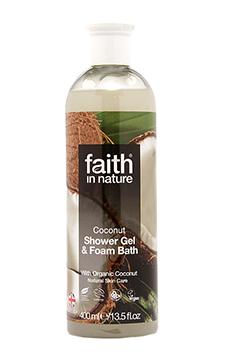 faith in nature coconut bath shower gel holland barrett