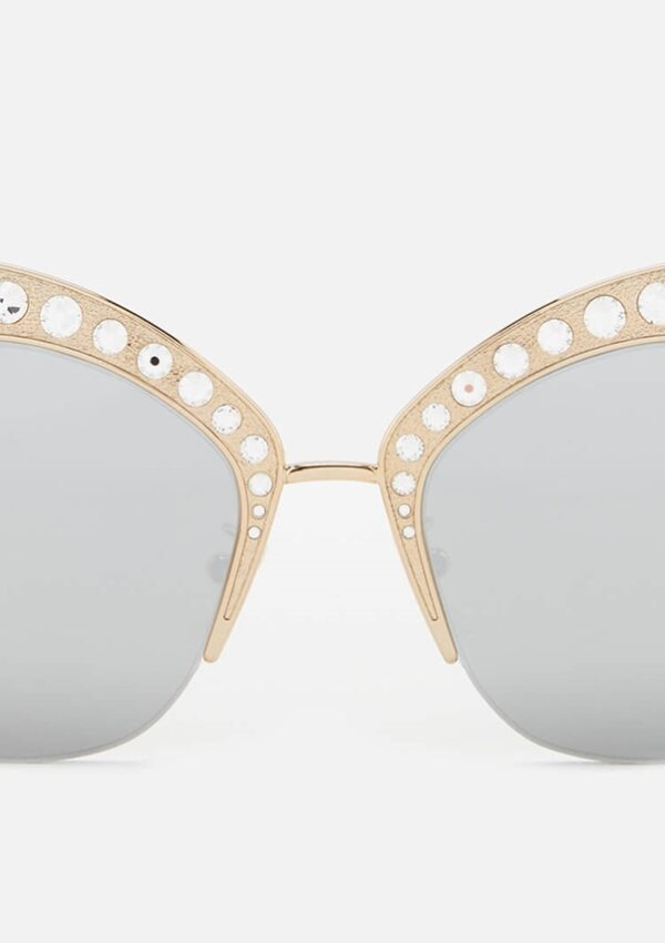 Retro Glam with Gucci Cat Eye Sunglasses
