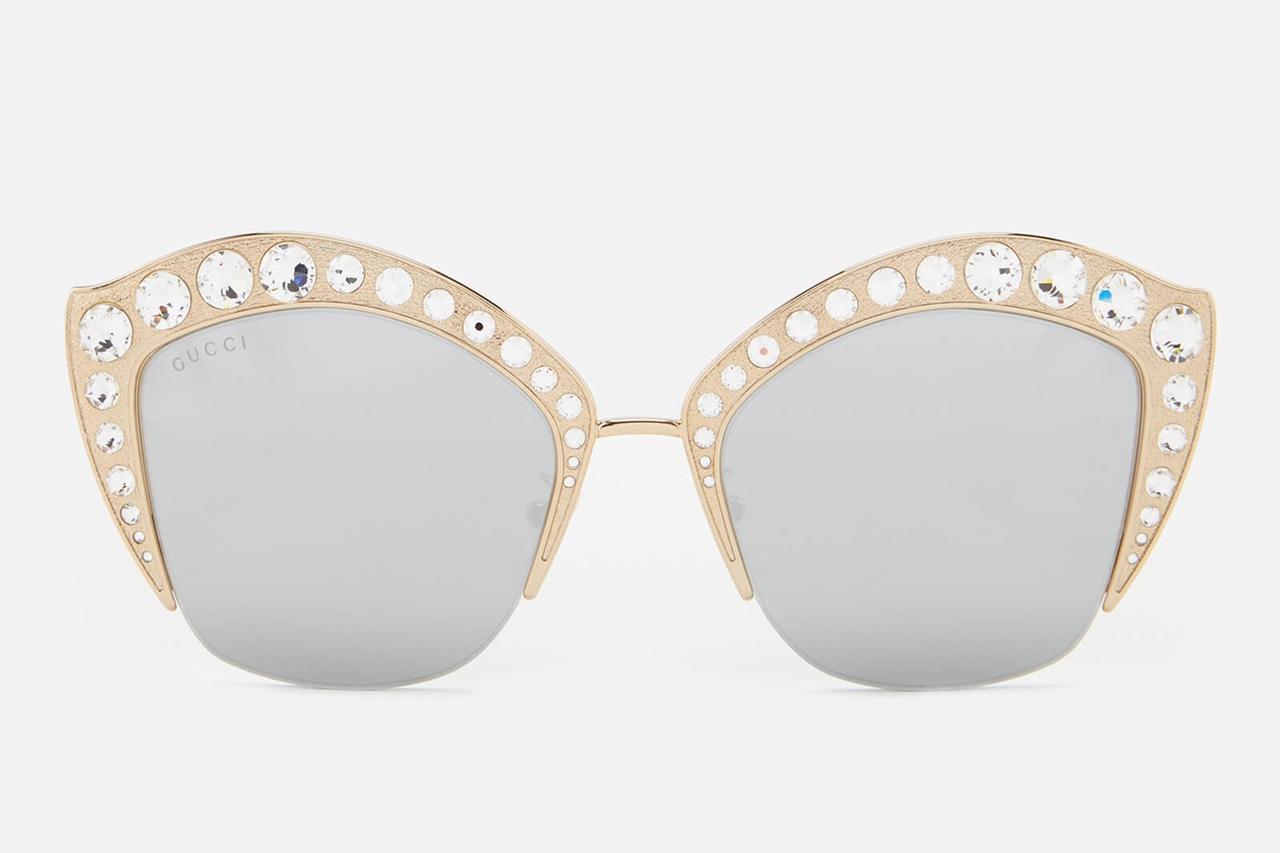 Retro Glam with Gucci Cat Eye Sunglasses