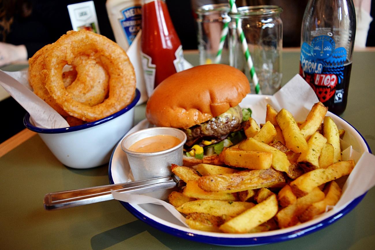 honest burger rosemary fries manchester