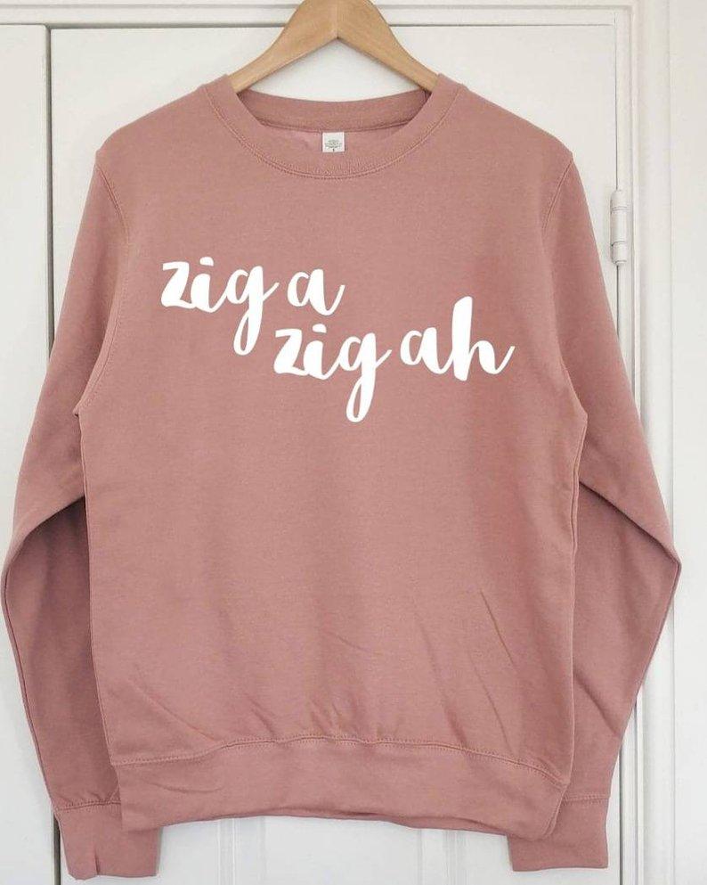 zig a zig ah sweatshirt