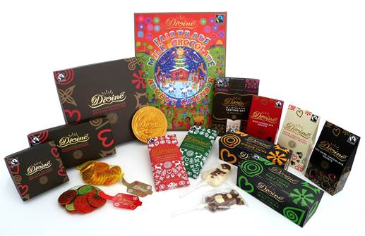 win divine christmas hamper chocolate boxes