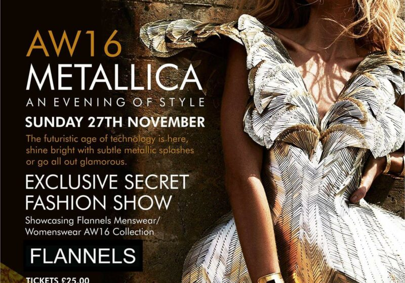manchester fashion industry mcr hosts menagerie milton club event autumn metallics