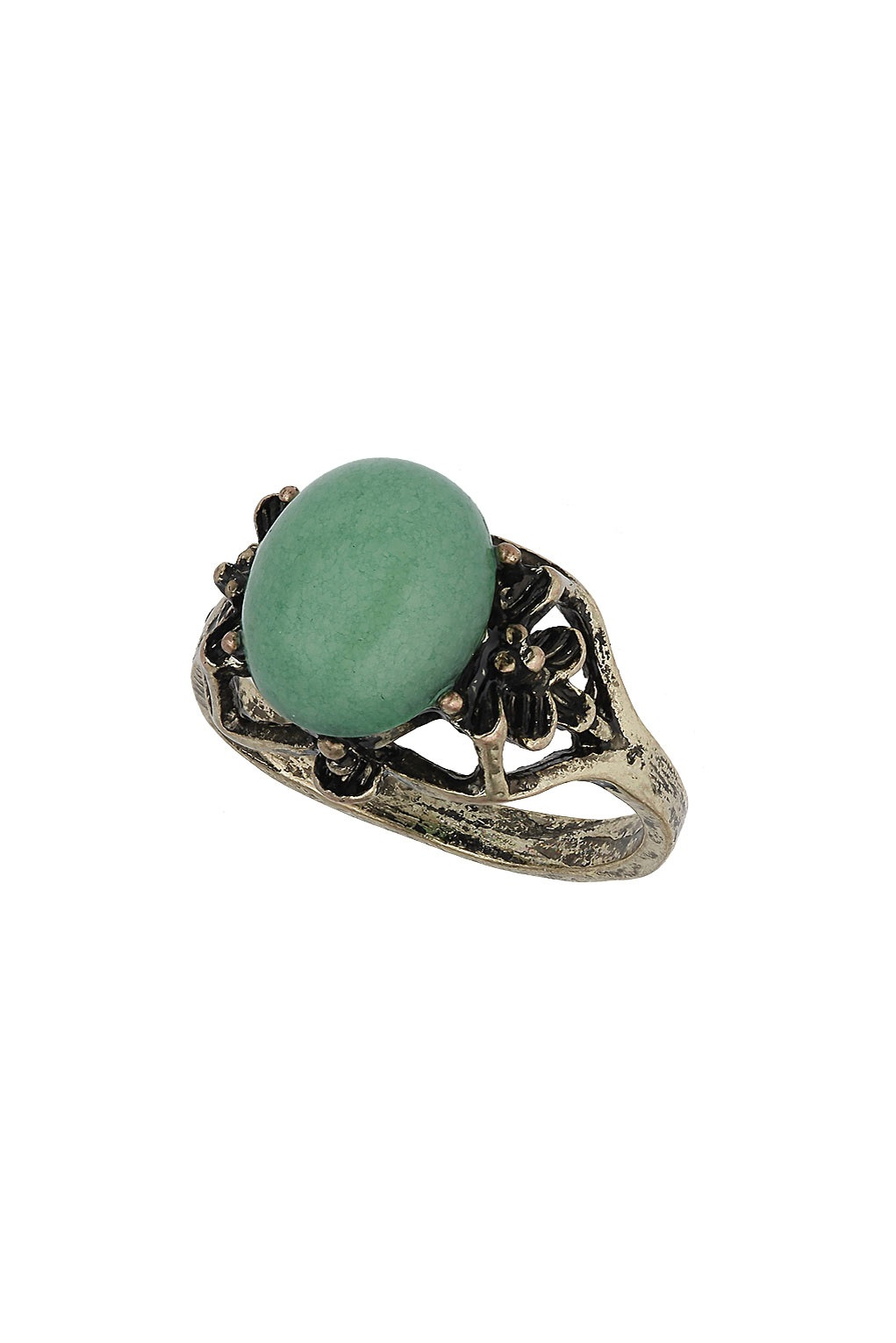 Green Stone Ring From Topshop £6.50