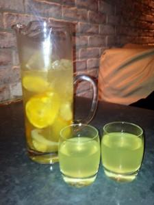 Orange & Ginger Water