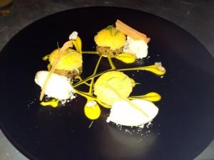 Carrot Cake with Cream Cheese Ice-Cream