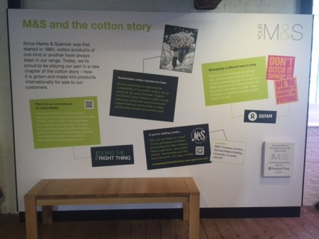 M&S Launch A New Exhibition at Quarry Bank Mill