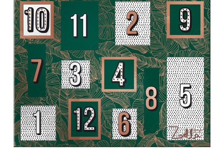 zoella 12 days of christmas calendar