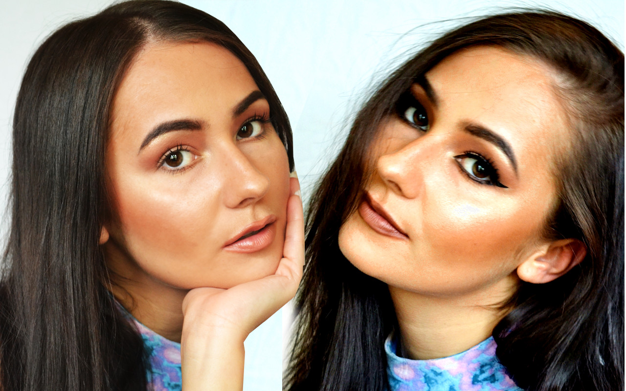 Beauty Editorial: Daytime Glow to Evening Glam
