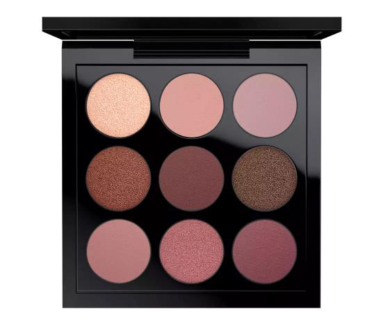 mac eyeshadow palette x 9 burgundy times nine