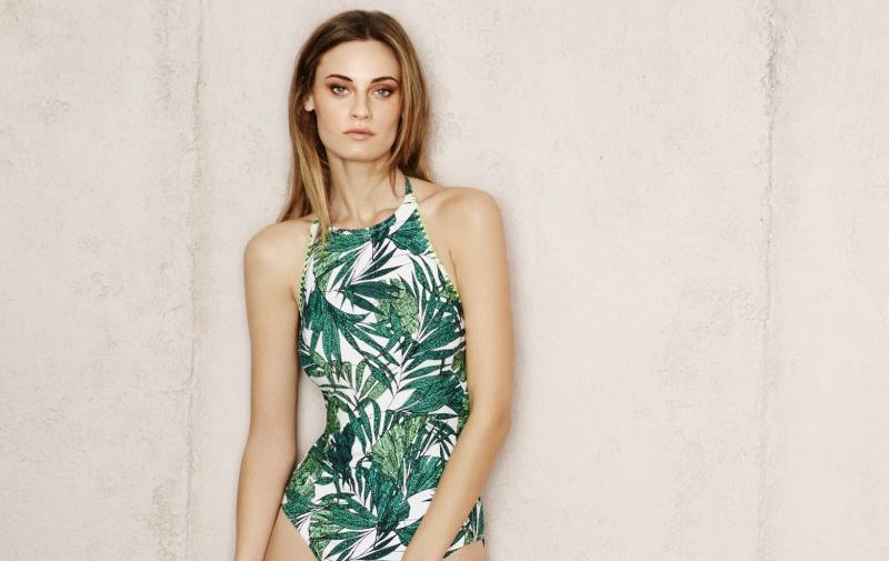 Marks and Spencer Tropical print swimsuit