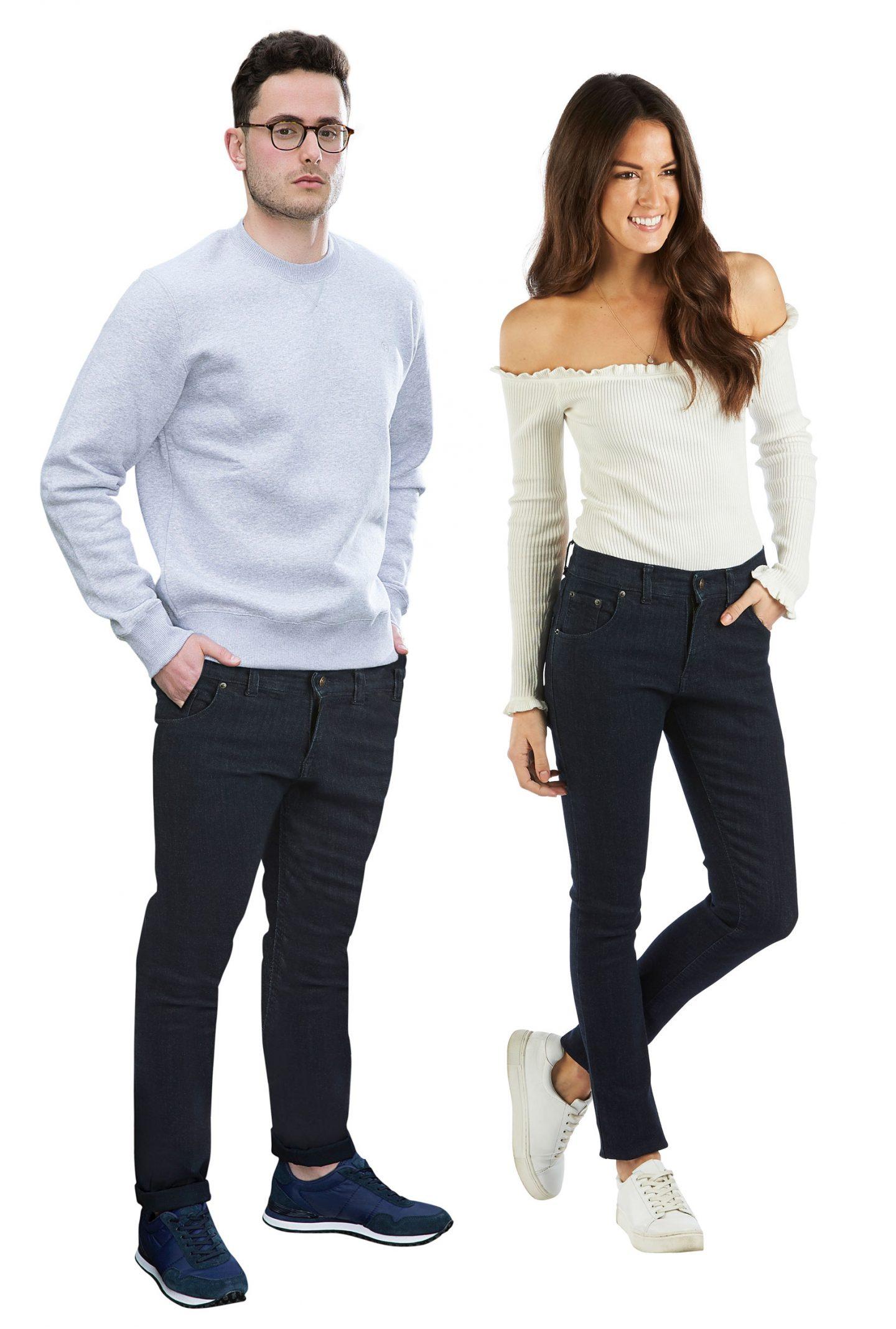 half century jeans feature
