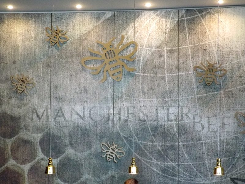 Motel One manchester Piccadilly Hotel Lobby Manchester Bees