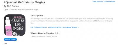 origins app store