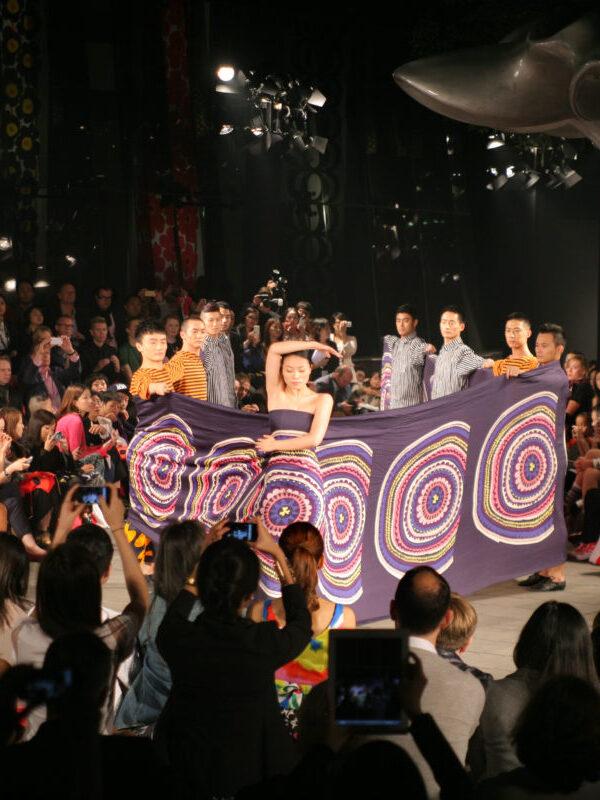 Marimekko Fashion Show, People's Park, Shanghai