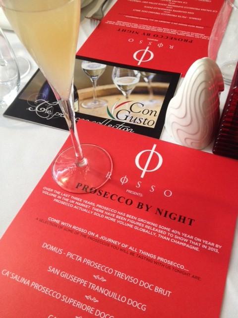 Prosecco Night at Rosso