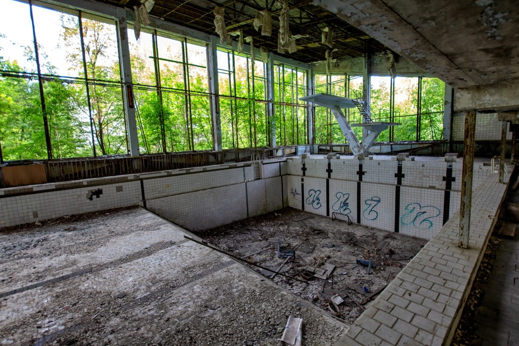 pripyata abandoned swimming pool