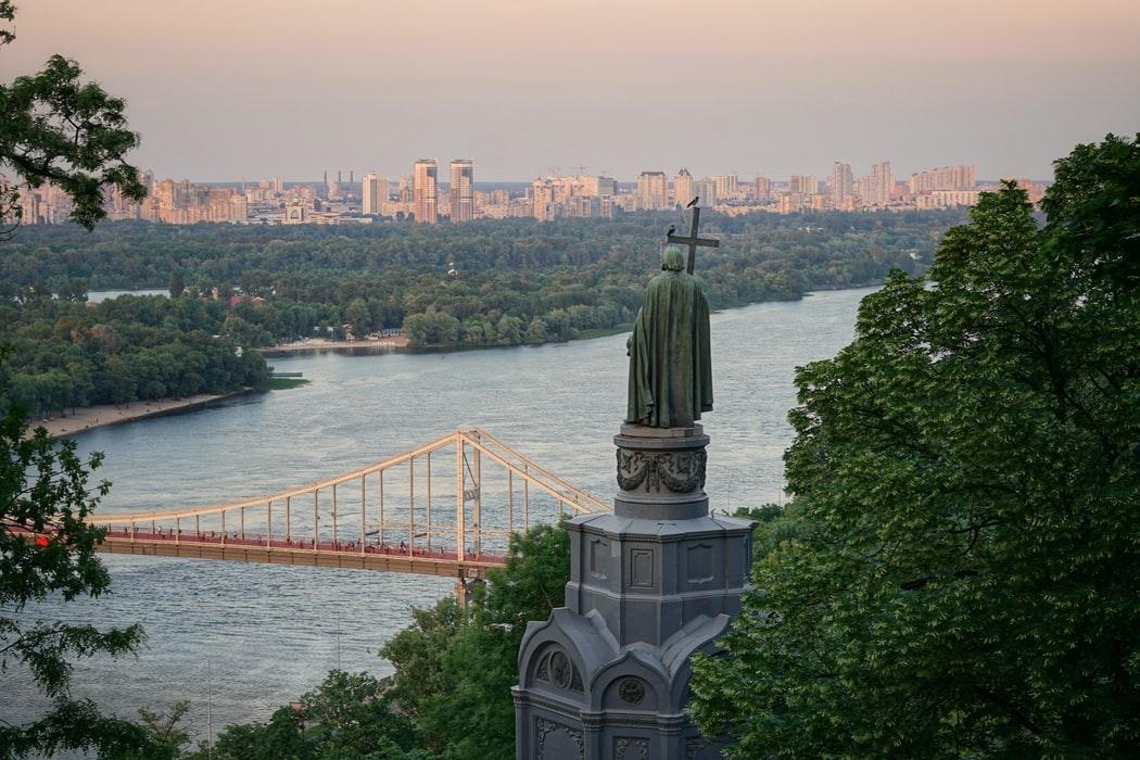 ukraine cityscape