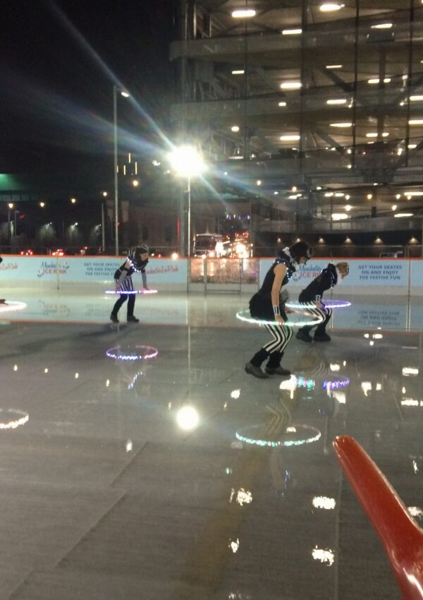 Ice Rink Fun with Capital at New Bailey