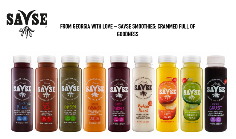 Christmas Competition #1: Win £50 Worth of Savse Smoothies