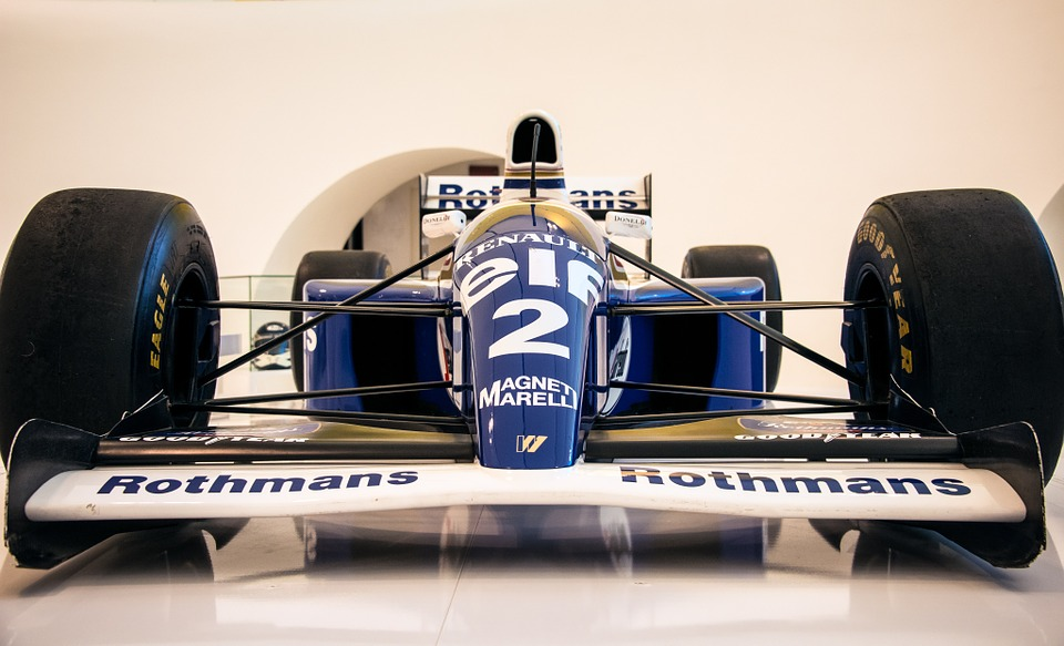 Five strangest things to have flown alone on Private Jet formula 1 racecar