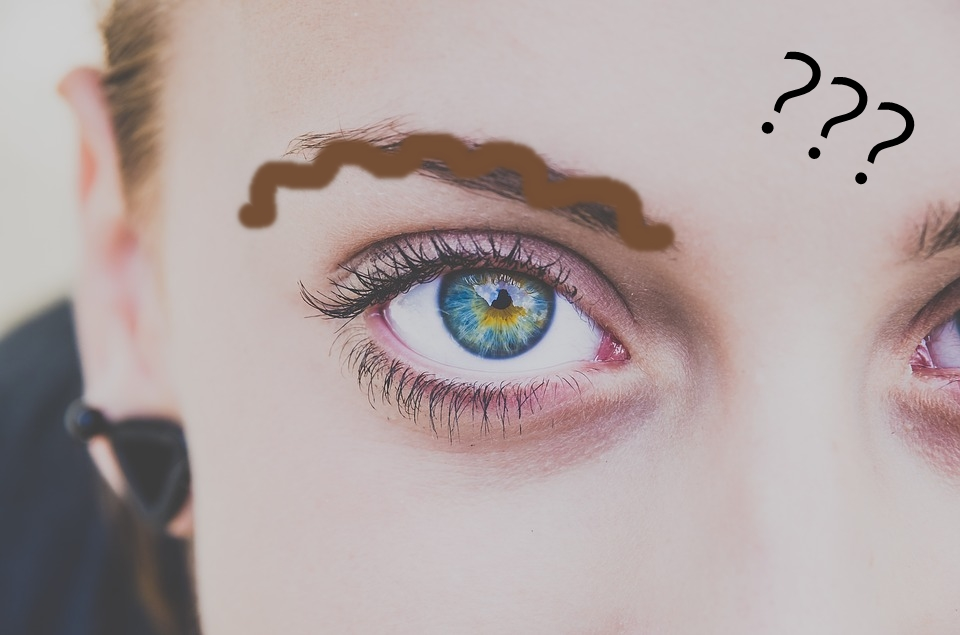 squiggle brows eyebrows beauty trends