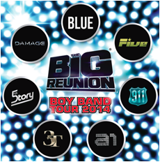 Big Reunion Boy Band Tour Is On The Way!