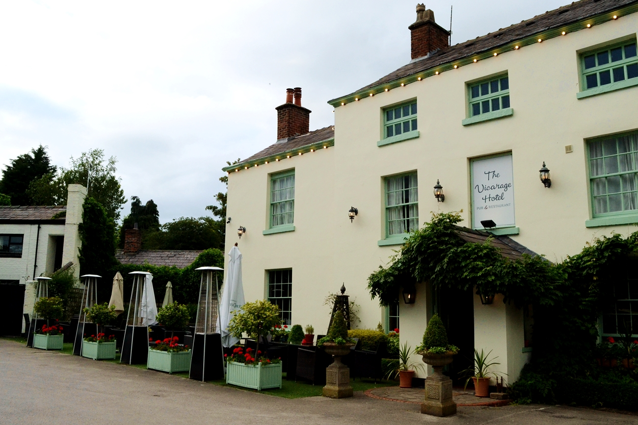 the vicarage hotel restaurant cheshire