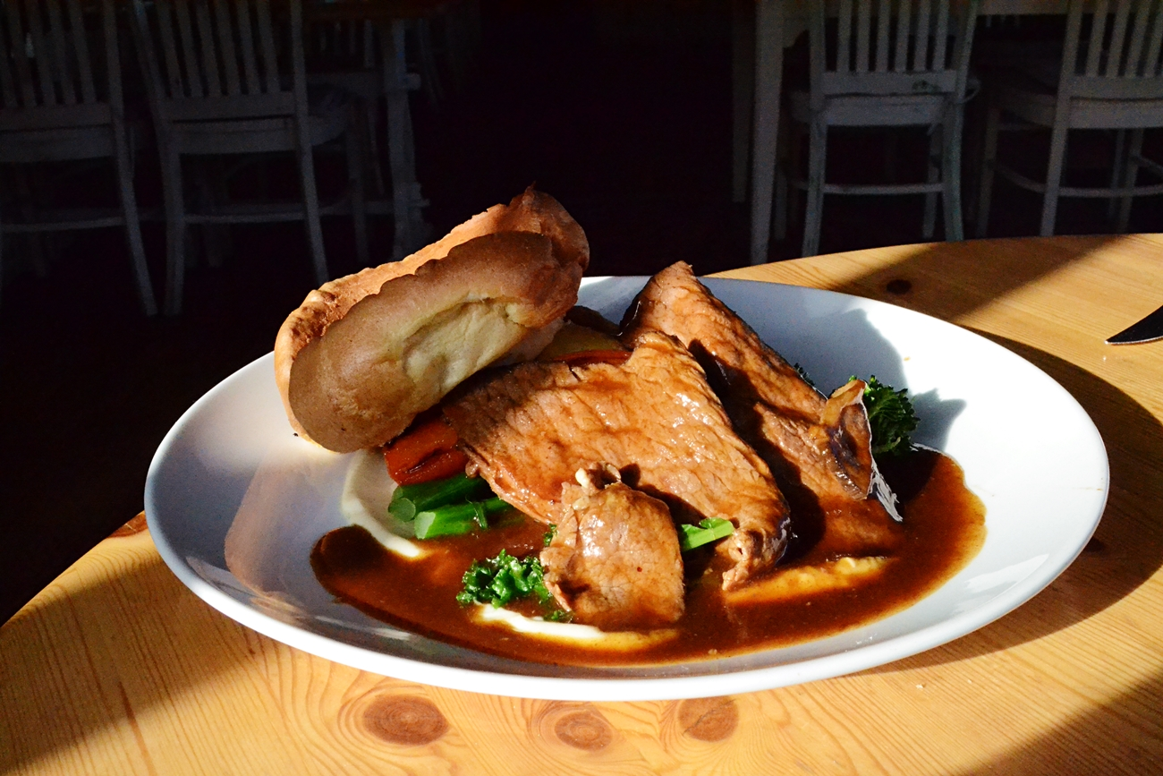 beef sunday lunch vicarage