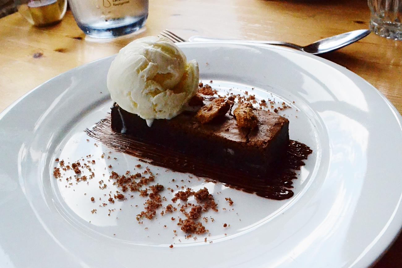 brownie vicarage dessert