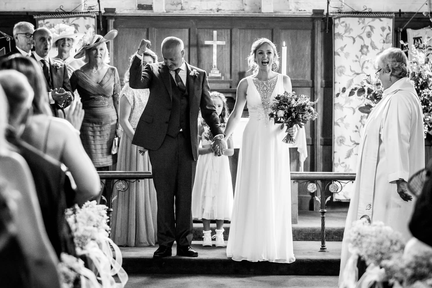 Axford Church Wedding Photographer