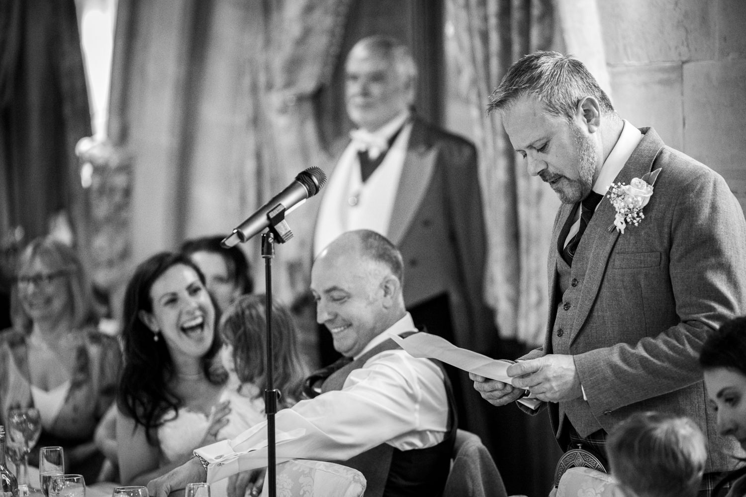 best man speech at Ashdown Park Hotel wedding