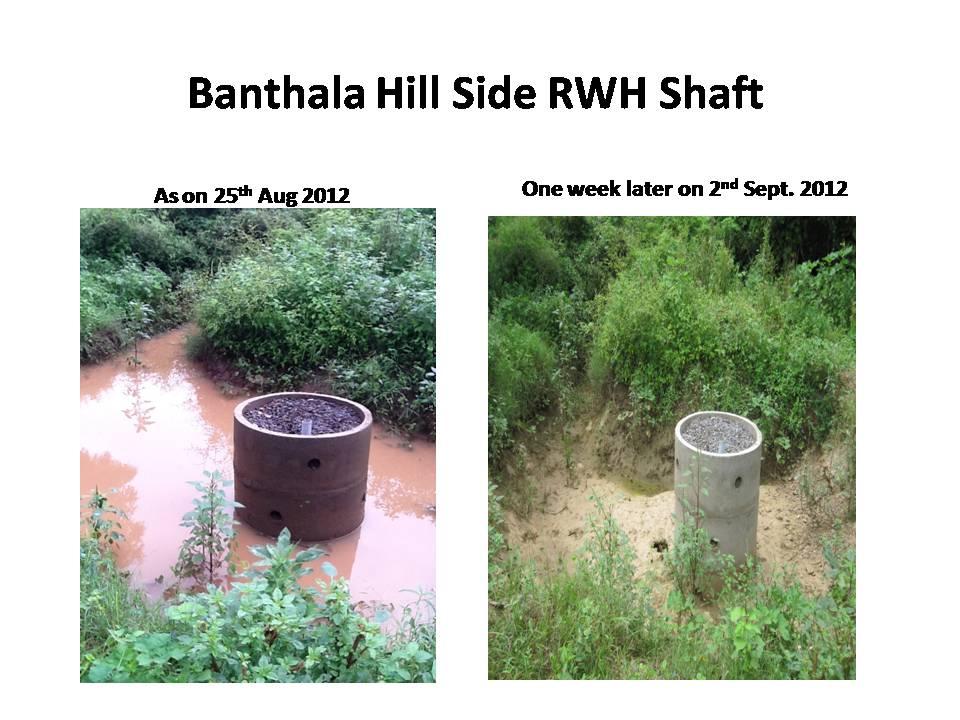 Banthala Hillside Water Harvesting